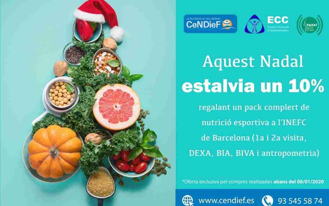 Regala nutrició esportiva, regala salut: paquet de Nutrició Esportiva PRO amb un 10% de descompte